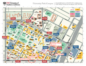 USC walking map | SCALL
